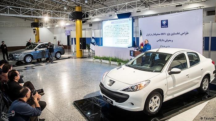 Iran - Peugeot 208i (Tasnim)