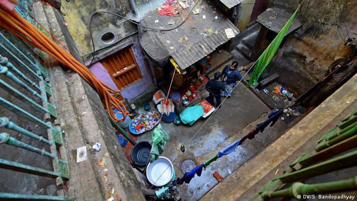 Indien Kalklutta - Rotlichtviertel Sonagachchi (DW/S. Bandopadhyay)