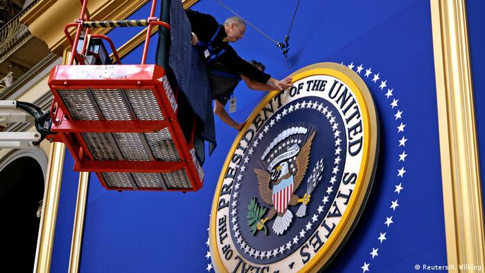 Washington Vorbereitung Amtseinführung Trump