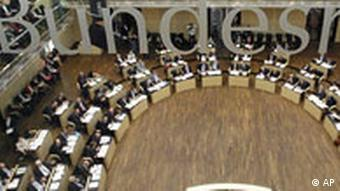 Sitzungssaal des Bundesrates in Berlin (Foto: AP)