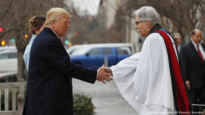 Washington Trump Amtseinführung Kirchenbesuch