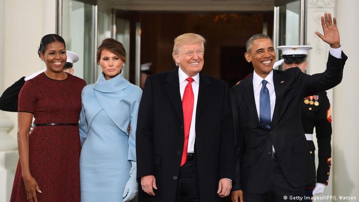 USA Amtsübernahme Trump (Getty Images/AFP/J. Watson)