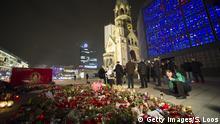 Deutschland Berlin Nach Anschlag auf Weihnachtsmarkt
