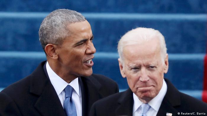 USA Amtsübernahme Trump Obama und Biden