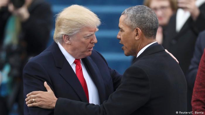 Дональд Трамп и Барак Обама (фото из архива)