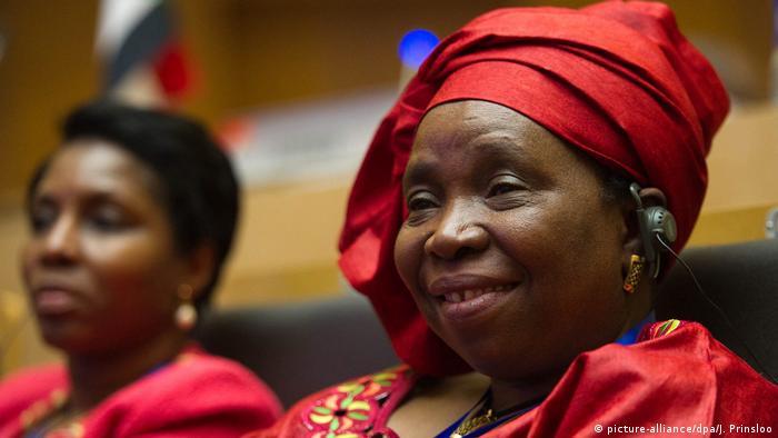 Nkosazana Dlamini-Zuma Amtseinführung Vorsitz Afrikanische Union