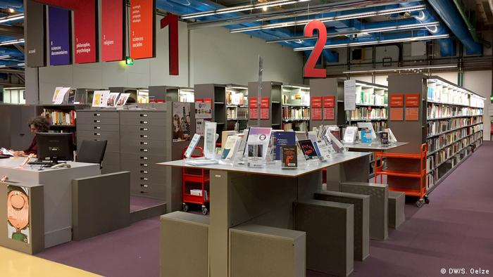 Centre Pompidou library (DW/S. Oelze)