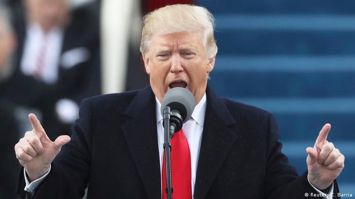 USA Amtsübernahme Trump (Reuters/C. Barria)