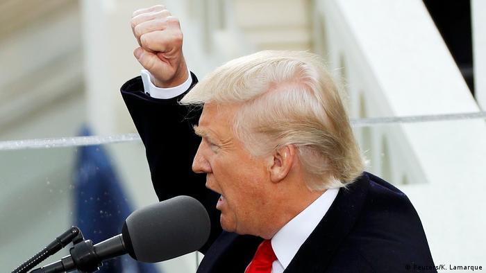 USA Amtsübernahme Trump