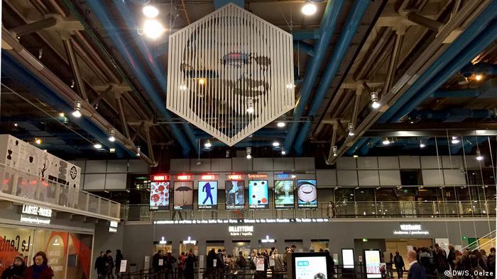 Centre Pompidou, interior (DW/S. Oelze)