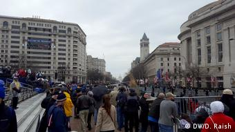 Washington Amtseinführung Trump Proteste