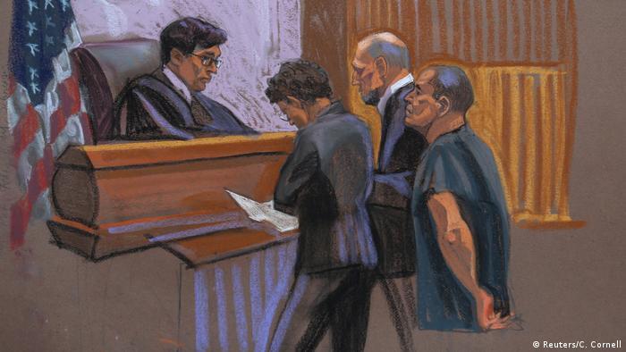 New York Gericht Anhörung El Chapo (Reuters/C. Cornell)