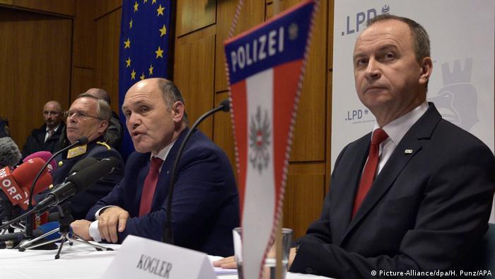 Terroranschlag in Wien verhindert (Picture-Alliance/dpa/H. Punz/APA)