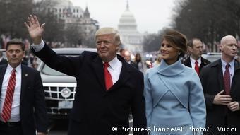 Washington Amtseinführung Trump Parade