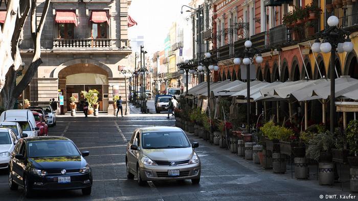 Alltag in der mexikanischen Stadt Puebla