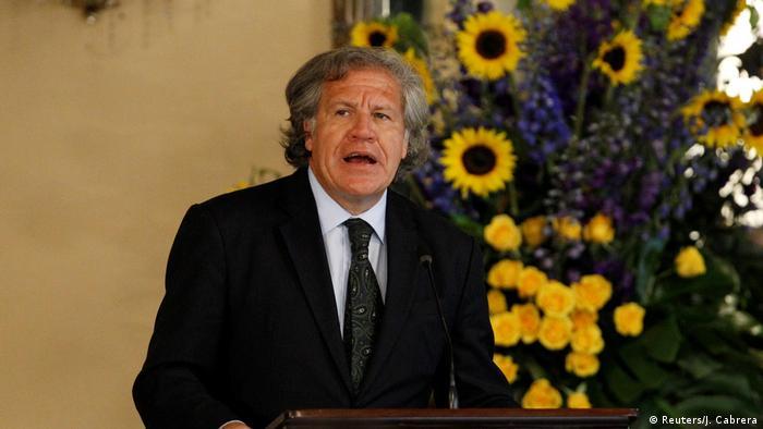 Luis Almagro (OEA) (Reuters/J. Cabrera)