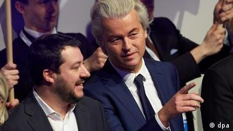 Matteo Salvini (lijevo) i Geert Wilders