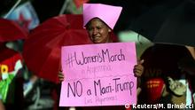 Women's March in Buenos Aires Argentinien (Reuters/M. Brindicci)