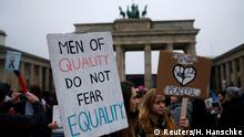 Women's March in Berlin Deutschland
