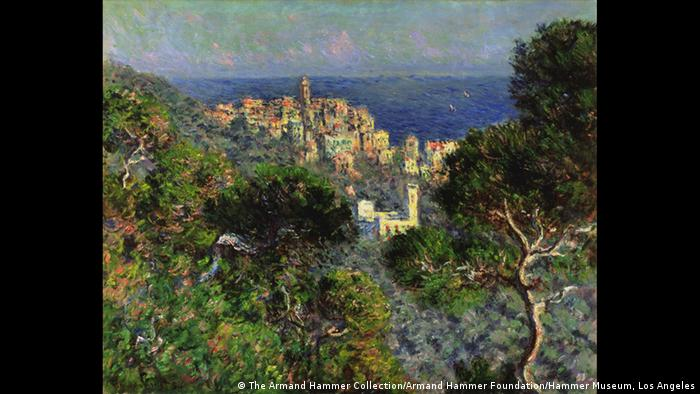 Vue de Bordighera by Claude Monet, 1884, Foto: Fondation Beyeler