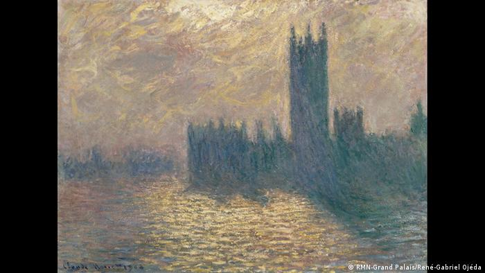 Houses of Parliament Westminstr by Claude Monet (RMN-Grand Palais/René-Gabriel Ojéda)