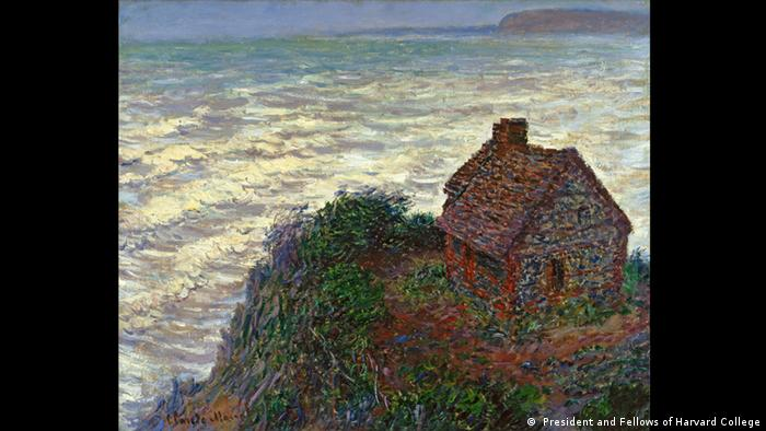 La Cabane du Douanier by Claude Monet, 1882 (Imaging Department, President and Fellows of Harvard College)