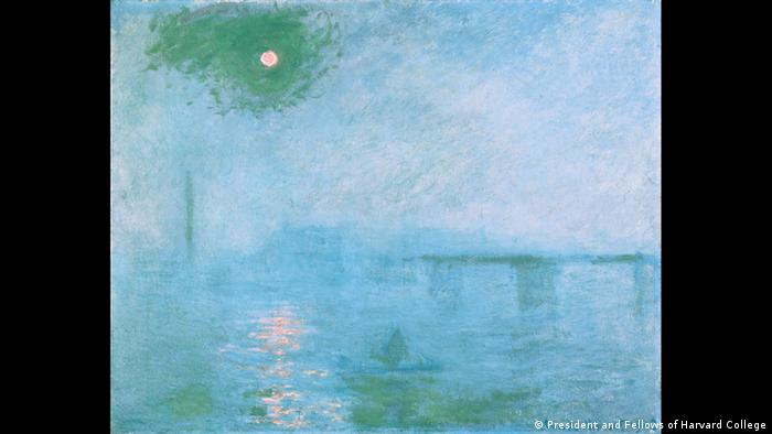 Charing Cross Bridge by Claude Monet, 1903 (Harvard Art Museum/Fogg Museum)