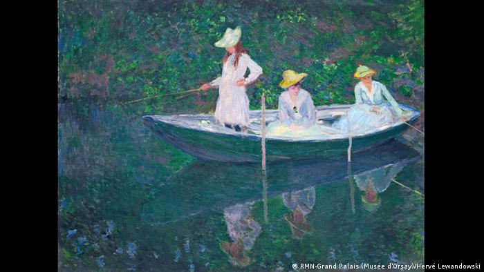 In the Norvégienne by Claude Monet, 1887 (RMN-Grand Palais (Musée d'Orsay)/Hervé Lewandowski)