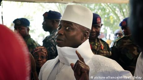 Yahya Jammeh (photo: picture-alliance/AP/dpa/J. Delay)