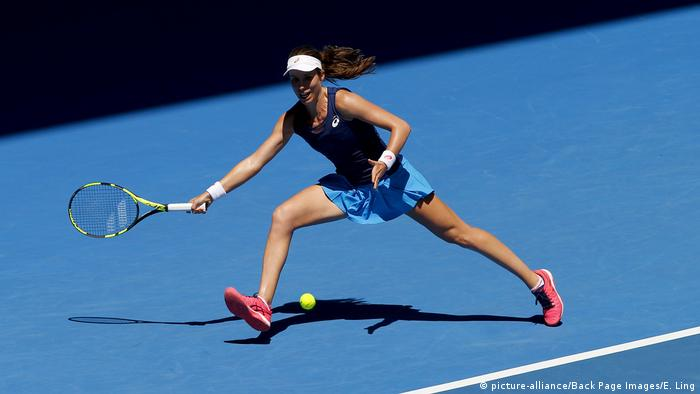 Australian Open Johanna Konta (picture-alliance/Back Page Images/E. Ling)