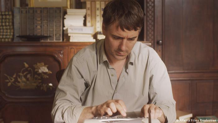 Film still The Beautiful Days of Aranjuez by Wim Wenders (Alfama Films Production)