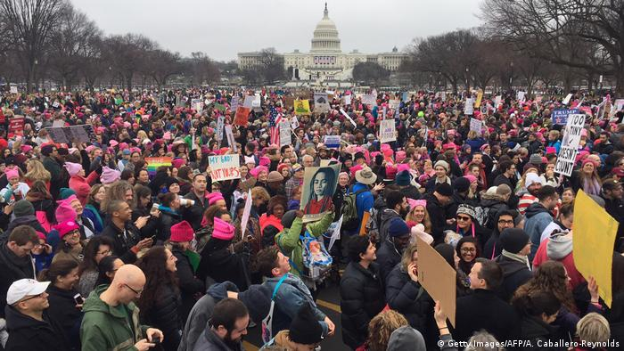 Women's March in Washington USA (Getty Images/AFP/A. Caballero-Reynolds)