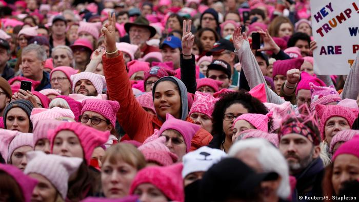 Women's March in Washington USA (Reuters/S. Stapleton)