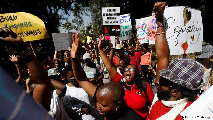 Women's March in Nairobi Kenia (Reuters/T. Mukoya)