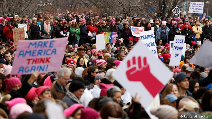 Women's March in Washington USA (Reuters/L. Jackson)