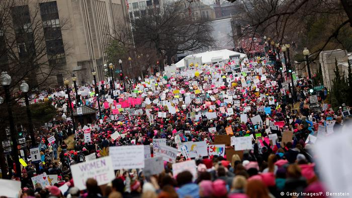Women's March in Washington USA