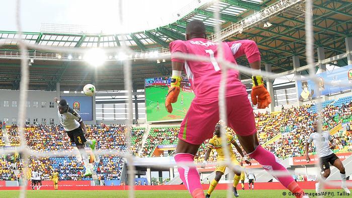 Afrika Cup Gruppe D Ghana v Mali