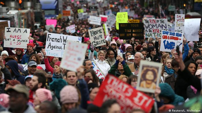 Women's March in Washington USA (Reuters/L. Nicholson)