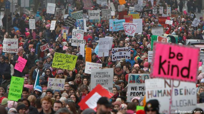 Women's March in Ottawa Kanada (Reuters/C. Wattie)