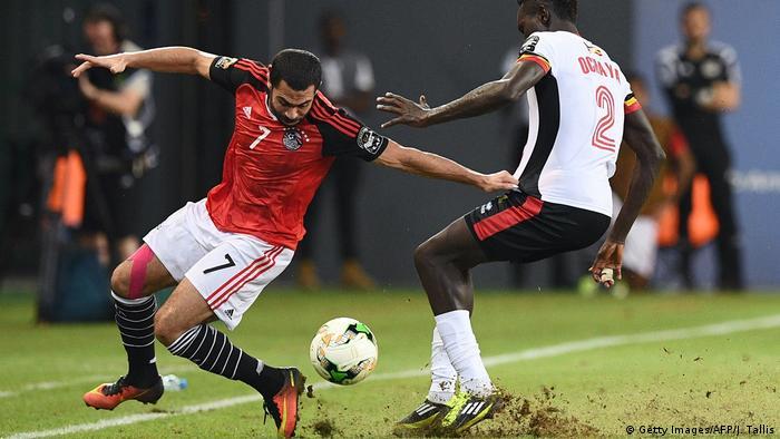 Afrika Cup Ägypten vs. Uganda