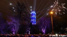 Ausstrahlung: Vom Rathausturm in alle Richtungen, offen für Begegnung