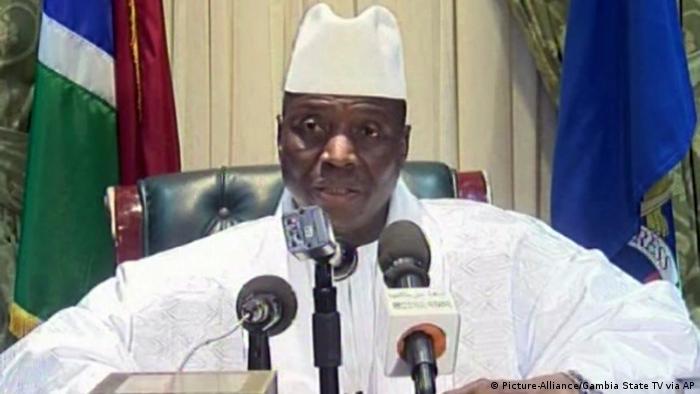 Gambia Ex-Präsident Yahya Jammeh