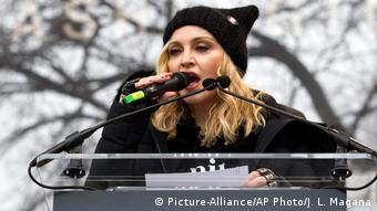 Madonna (Picture-Alliance/AP Photo/J. L. Magana)
