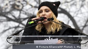Washington Womens March - Madonna