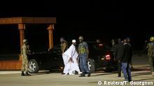 Gambia Ankunft des Ex-Präsident Yahya Jammeh am Flughafen