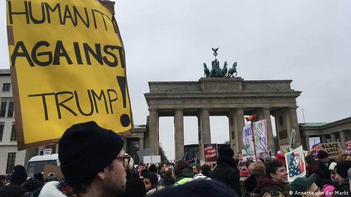 Women's March Deutschland Berlin Annette von der Markt (Annette von der Markt)