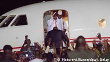 Ex-Präsident Jammeh verlässt Gambia
