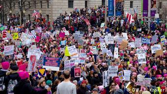 Washington Women's March Trump Proteste