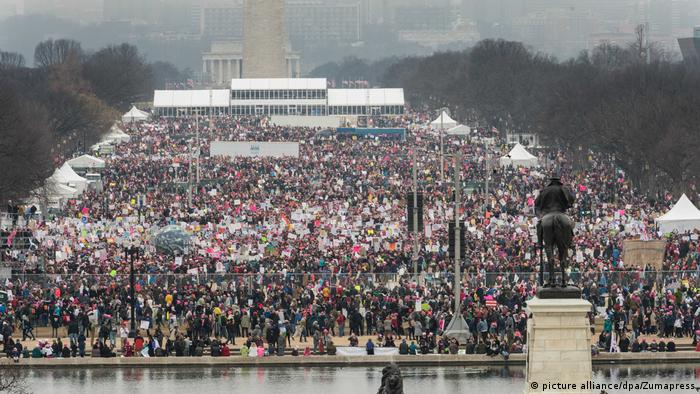 Women's March 2017 - Washington D.C. (picture alliance/dpa/Zumapress)