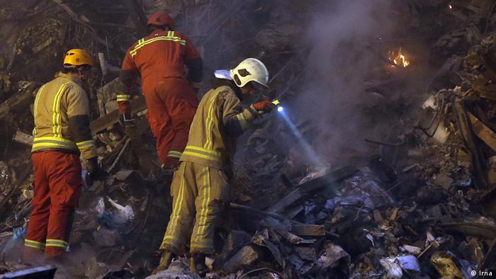 Iran Plasco Feuerwehr (Irna)